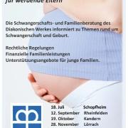Informationsabend für werdende Eltern