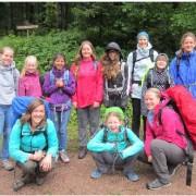 Raus aus dem Alltag – acht Mädchen auf Wanderschaft