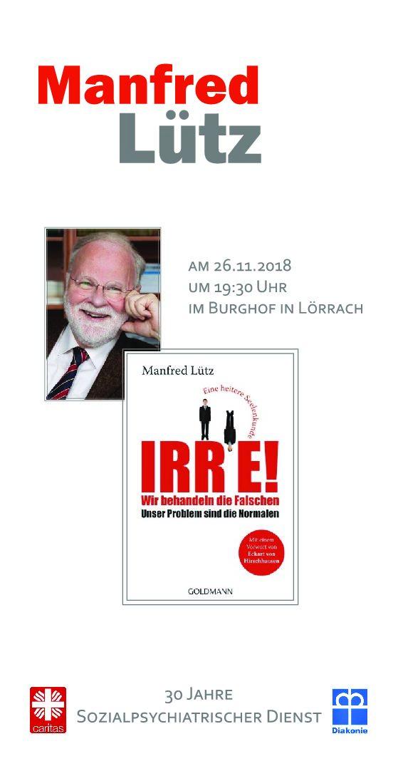 Veranstaltung mit Manfred Lütz im Burghof