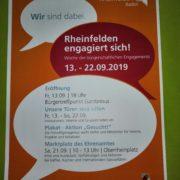 Rheinfelden engagiert sich! Woche des bürgerlichen Engagements