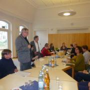 Josha Frey besucht das evangelische Stadtteilzentrum in Weil am Rhein – Friedlingen